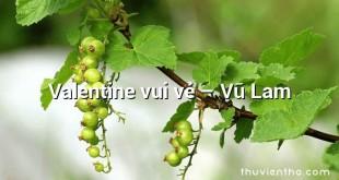 Valentine vui vẻ – Vũ Lam