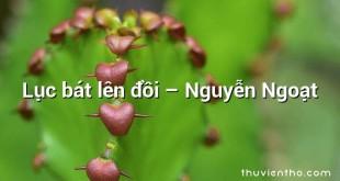 Lục bát lên đồi – Nguyễn Ngoạt