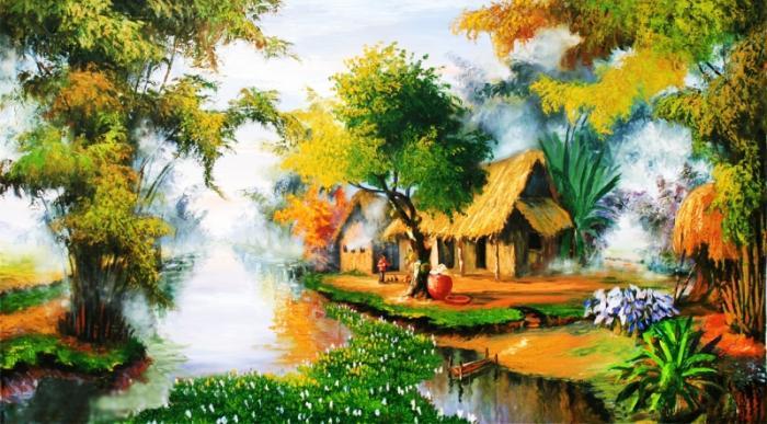 top 10 bai tho hay cua nha tho nguyen khuyen 1 - Top 10 Bài thơ hay của nhà thơ Nguyễn Khuyến