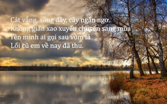 top 10 bai tho noi tieng cua nha tho xuan quynh 6 - Top 10 Bài thơ nổi tiếng của nhà thơ Xuân Quỳnh