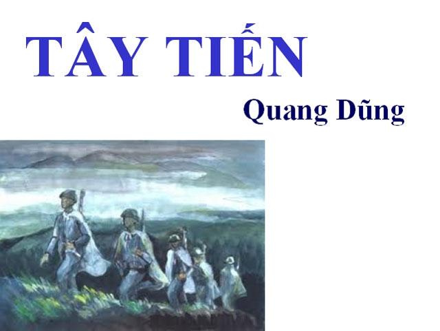 Bức tranh về những người lính Tây Tiến trong nỗi nhớ của nhà thơ (nguồn internet)