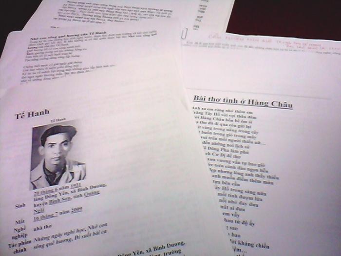 top 13 bai tho hay cua nha tho té hanh 17 - Top 13 Bài thơ hay của nhà thơ Tế Hanh