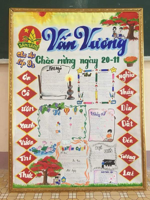 top 20 bai tho bao tuong hay va y nghia nhat ngay nha giao viet nam 18 - Top 20 Bài thơ báo tường hay và ý nghĩa nhất ngày nhà giáo Việt Nam