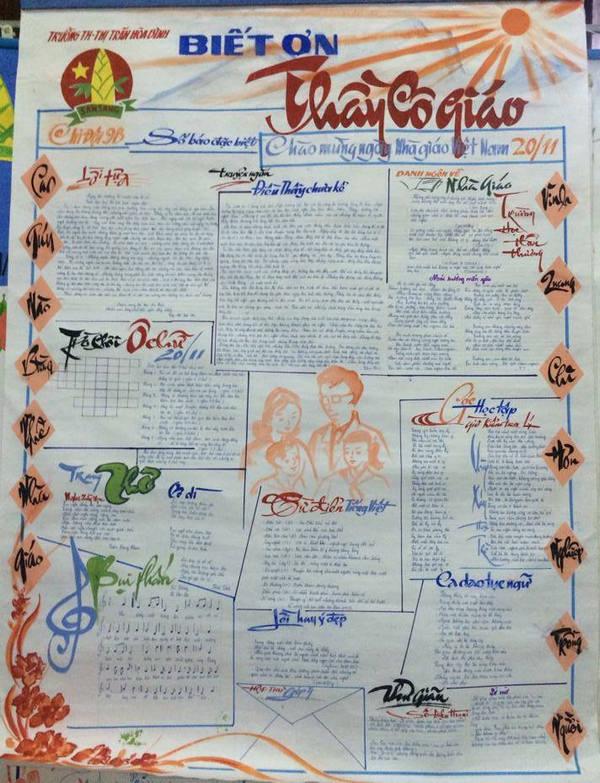 top 20 bai tho bao tuong hay va y nghia nhat ngay nha giao viet nam 19 - Top 20 Bài thơ báo tường hay và ý nghĩa nhất ngày nhà giáo Việt Nam