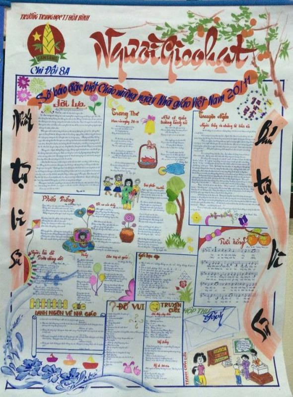 top 20 bai tho bao tuong hay va y nghia nhat ngay nha giao viet nam 9 - Top 20 Bài thơ báo tường hay và ý nghĩa nhất ngày nhà giáo Việt Nam