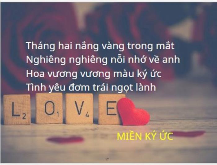 top 20 cau tho hay tang nguoi yeu nhan ngay le tinh nhan 14 - Top 20 Câu thơ hay tặng người yêu nhân ngày lễ tình nhân