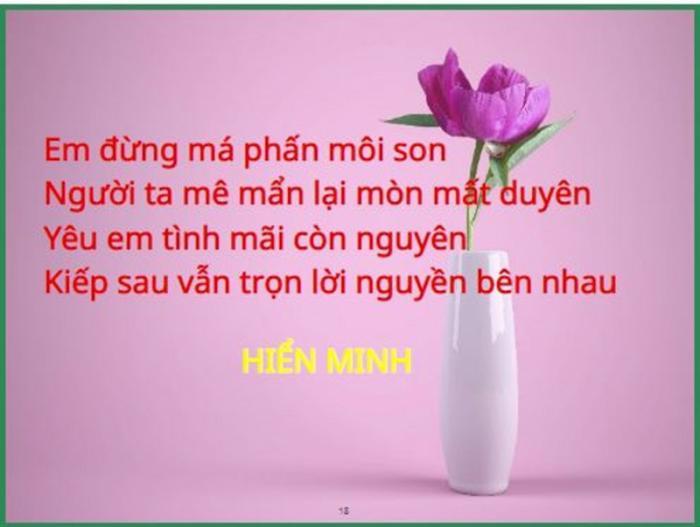 top 20 cau tho hay tang nguoi yeu nhan ngay le tinh nhan 15 - Top 20 Câu thơ hay tặng người yêu nhân ngày lễ tình nhân
