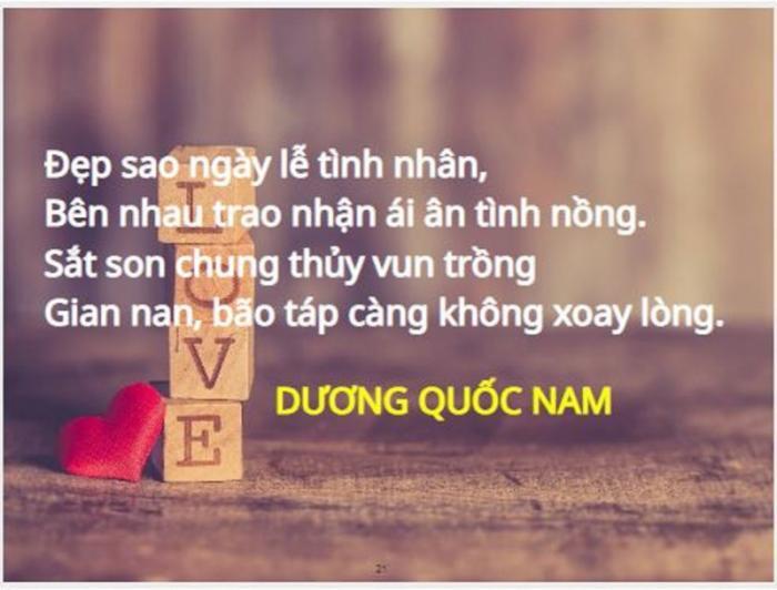 top 20 cau tho hay tang nguoi yeu nhan ngay le tinh nhan 18 - Top 20 Câu thơ hay tặng người yêu nhân ngày lễ tình nhân