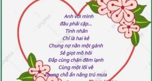 Thơ hay Valentine's day