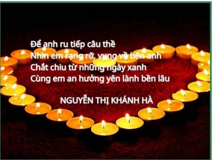 top 20 cau tho hay tang nguoi yeu nhan ngay le tinh nhan 5 - Top 20 Câu thơ hay tặng người yêu nhân ngày lễ tình nhân